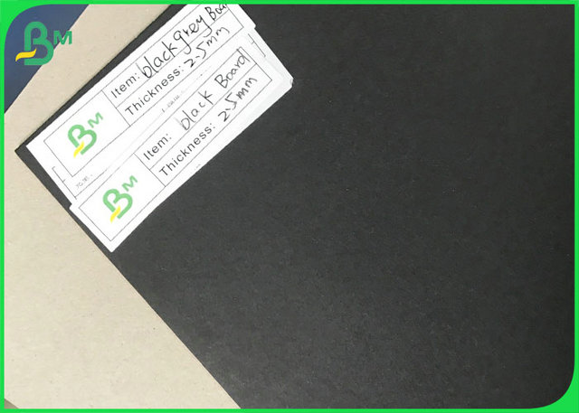 Grey Black Card board 150gsm 250gsm 300gsm 350gsm 450gsm 1.5mm to 3.0mm Black Carton Gris