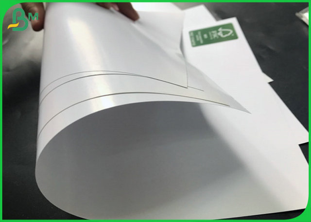 Coated Double Side 120G 180G High Gloss Couche Paper With Jumbo Roll 400mm