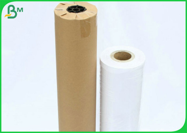 24 Inch Bond CAD Tracing Plotter Paper Roll With 150 Meters Length