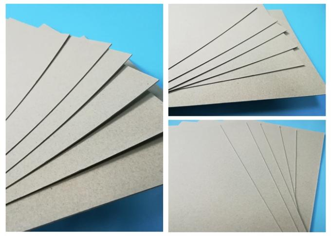 FSC Certified Mixed Pulp 0.4mm ~ 4mm Straw Paperboard For Furnitures