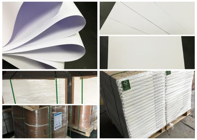 60gsm 70gsm 80gsm Uncoated Woodfree Paper For School Books High Whiteness
