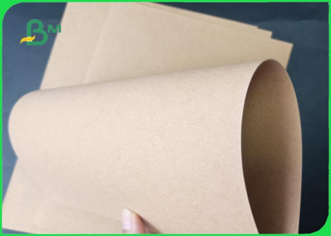 350gsm Tear Resistant 100% Wood Pulp Brown Kraft Liner Paper For Package