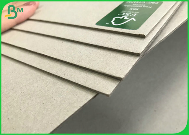 Uncoated Grayboard Smooth Surface FSC Booking Binding Board 1.2MM For Covers