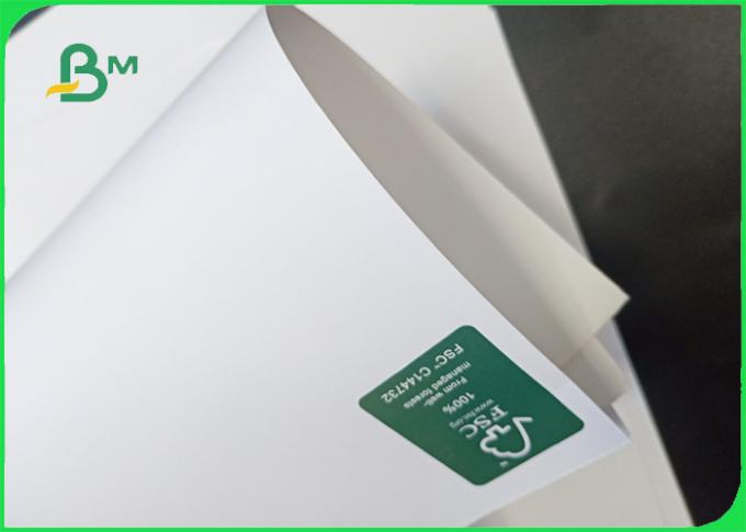 100gsm - 300gsm high whiteness and smooth surface FSC silk matt paper for magazine