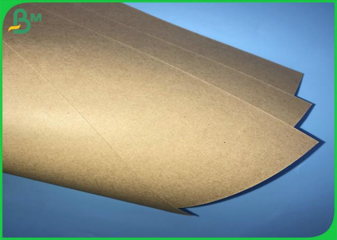 250gsm 300gsm 350gsm High Toughness Brown Kraft Board For Packages Boxes