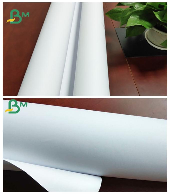 24 / 36 Inch Grade AA Inkjet Plotter Paper For Garments Industry Designing
