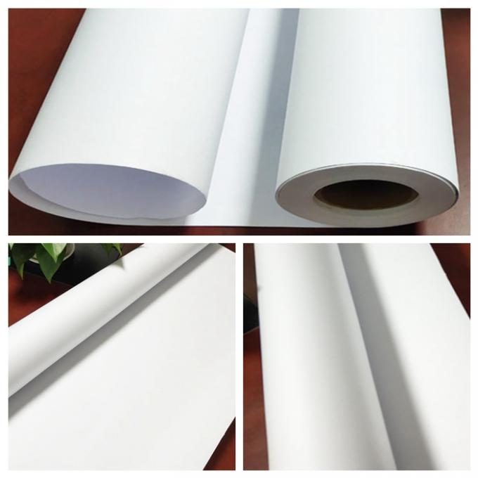 A0 Size 3inch Roll Core Plotter Paper With FSC & SGS Approved For HP Printer