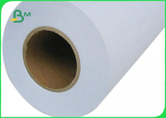 36inch * 150m 80gsm Plotter Paper For Canon Printer Good Print Performance
