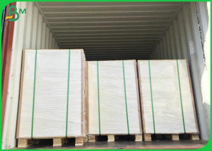 70*100cm 190gsm 210gsm 230gsm White High Bulk GC1 Folding Box Board For Packing