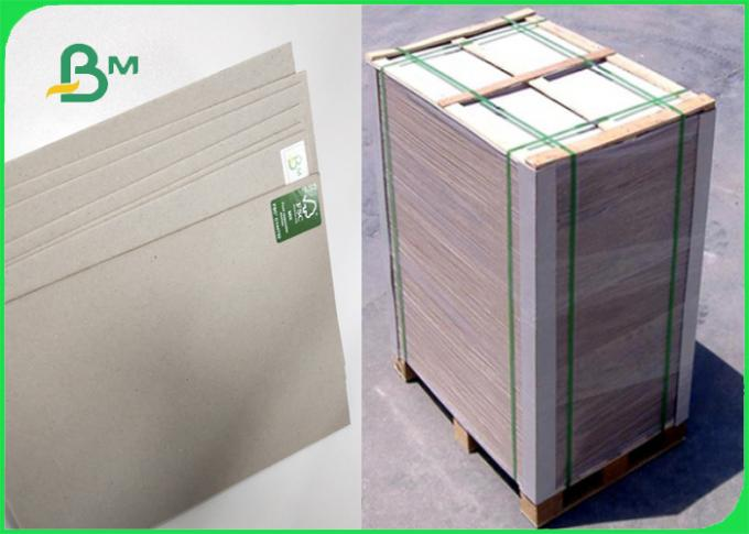 AAA / AA Plain Grey Board Waste Paper As Material To Packing 600 * 600MM