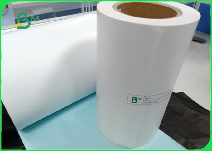 size 100*100mm Strong viscosity Thermal sticker paper for market labal