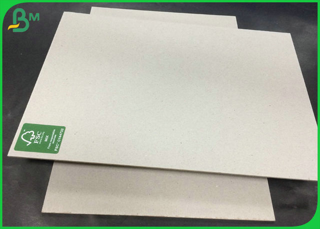 Anti- Curl FSC Certified Grey Chipboard With 700GSM TO 1500GSM