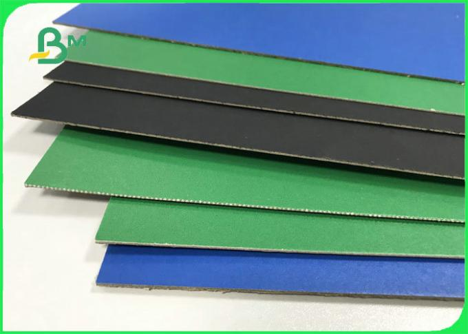 1.5mm 2.0mm Recycled Pulp Varnish Colorful Paperboard For File Folders