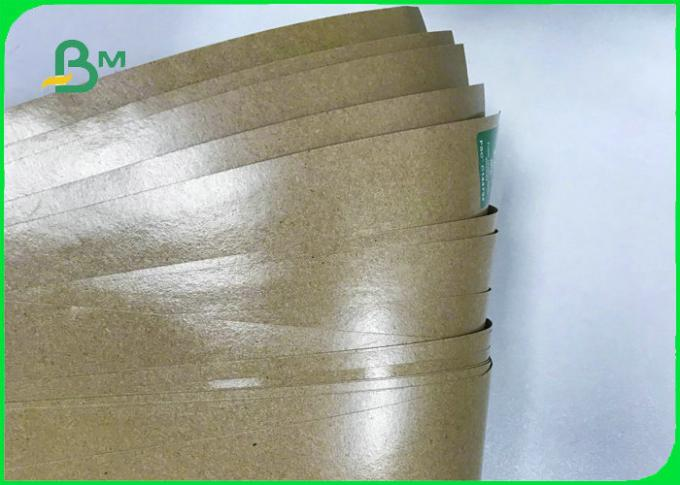 50gsm 70gsm 80gsm + 10g Greaseproof PE Coated Craft Paper For Food Bags