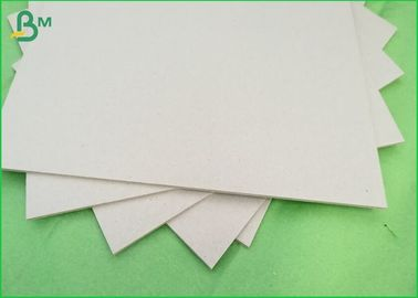 Moisture Proof Gray Chipboard, 1900gsm Grey Board Sheets Untuk Buku Binding Paper