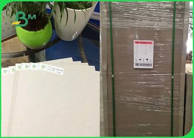 80x100cm Book Binding Board Duplex Grey Board Paper di Lembar Recycle Pulp Material
