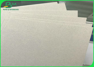 300 - 2600gsm Daur Ulang Gray Chip Board dengan Gray Back in Sheets untuk Hard Book Cover
