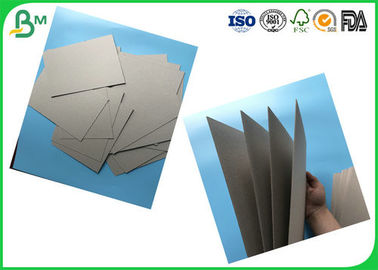1.0mm 2.0mm 3.0mm 4.0mm Tebal Laminated Grey Board Dengan Gray Back, Gray Chipboard Rolls