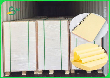 70GSM 80GSM Yellow Woodfree Paper / Bond Paper 100% Virgin Pulp FSC Bersertifikat
