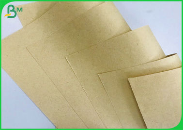 FSC Putih Daur Ulang Pulp 50gsm Brown Kraft Paper Roll, Virgin Kraft Liner Board