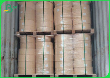 Biodegradable Food Grade Kertas Roll Kertas Sedotan AA Kraft 60GSM 15MM Cetak