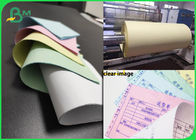 Cina Digital Paperless Carbon Printing CB 52 CFB 50 CF 55 Colourful NCR Paper Rolls perusahaan